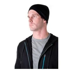 tasc Performance Reversible Bamboo/Merino Hat Black