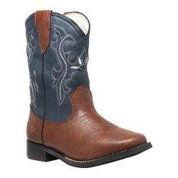 Boys' Tecs 6581 8in Western Pull On Navy Blue