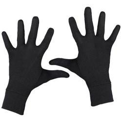 Terramar Interlock Silk Glove Liner Black 14596263