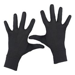 Children's Terramar Silk Interlock Glove Liner Black