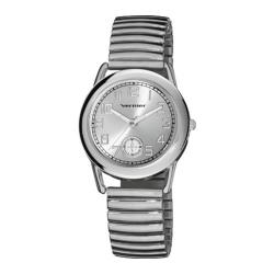 Women's Vernier V11111 Expansion Band Watch Silver Stainless Steel/Silver