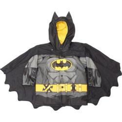 Boys' Western Chief Batman Caped Crusader Raincoat Black