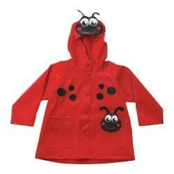 Girls' Western Chief Ladybug Rain Coat Red