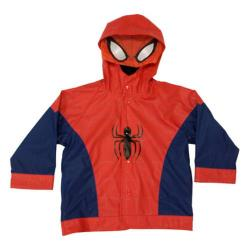 Boys' Western Chief The Ultimate Spider-Man Raincoat Navy