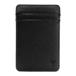 Men's Wurkin Stiffs RFID Credit Card Wallet Black/Black