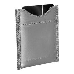 Men's Stewart Stand Magnetic Steel Money Clip Wallet Silver