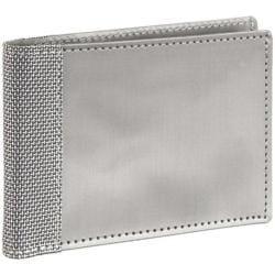 Men's Stewart Stand Slim Bill Fold (ID) Silver