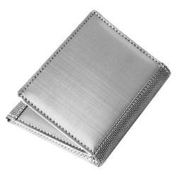 Men's Stewart Stand Tri-Fold (ID) Silver
