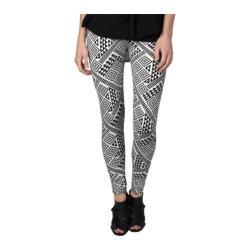 Women's Hailey Jeans Co. Legging-PL001 Black/White