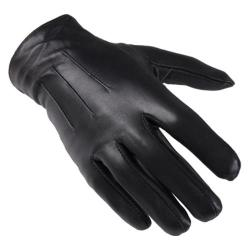 Men's Oxford & Finch Genuine Leather Thinsulate Lined Gloves Black