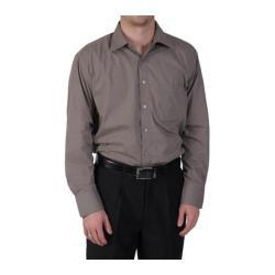Men's Oxford & Finch Point Collar Long Sleeve Dress Shirt Olive