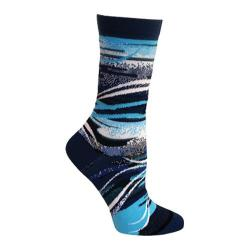 Women's Ozone Air Crew Sock (2 Pairs) Blue