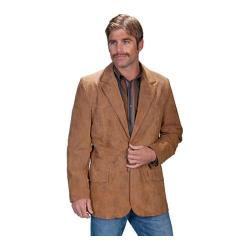 Men's Scully Leather Leather Blazer 602 Long Maple