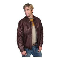 Men's Scully Leather Premium Lambskin Jacket 978 Tall Chocolate
