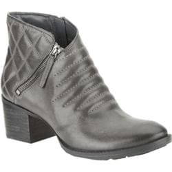 Women's Clarks Movie Retro Dark Grey Leather