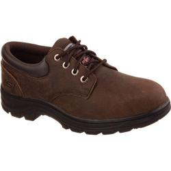 Men's Skechers Work Relaxed Fit Workshire Corpus ST Dark Brown
