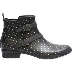Women's Cougar Royale Black Polka Dot Rubber