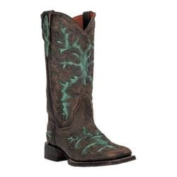 Women's Dan Post Boots Cowboy Certified Touche II DP3912 Brown Vintage Distressed Leather