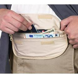 Smooth Trip Deluxe Waist Money Belt (Set of 2) Tan
