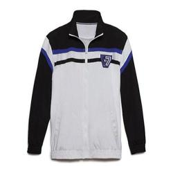 Men's Fila Basketball Jacket White/Black/Black