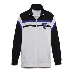Men's Fila Basketball Jacket White/Black/Black