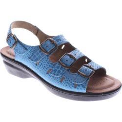 Women's Flexus by Spring Step Adriana Blue Python Leather