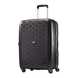 American Tourister by Samsonite Duralite 360 Black 24-inch Spinner Suitcase
