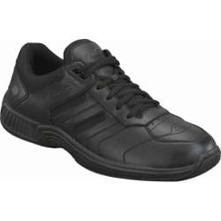 Women's Orthofeet Whitney Black Leather