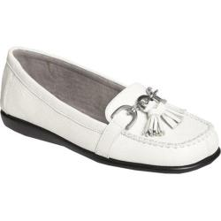 Women's Aerosoles Super Soft White Leather