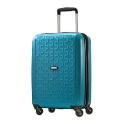 American Tourister by Samsonite Duralite Seaport Blue 20-inch Carry On Hardside Spinner Suitcase
