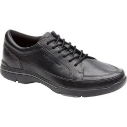 Men's Rockport City Play Mudguard Black Leather