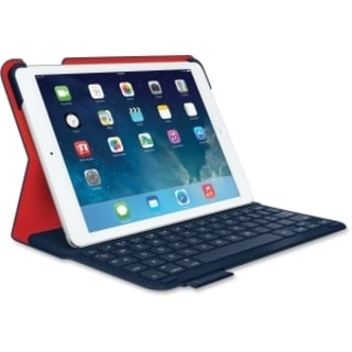 Logitech Ultrathin Keyboard/Cover Case (Folio) for iPad Air - Midnigh