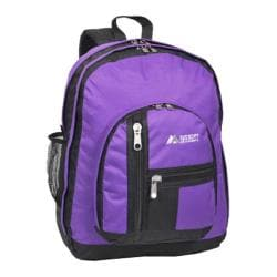 Everest Double Compartment Backpack Dark Purple