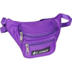 Everest Signature Waist Pack 044KS (Set of 4) Dark Purple