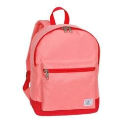 Everest Two-Tone Classic Backpack Coral/Red