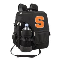 Picnic Time Turismo Syracuse Orange Print Black