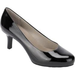 Women's Rockport Seven to 7 65mm Pump Black Patent Leather