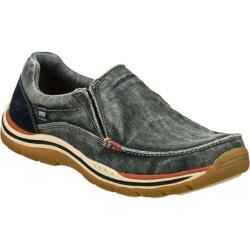 Men's Skechers Relaxed Fit Expected Avillo Navy/Navy
