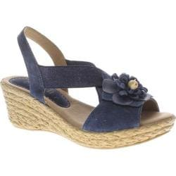 Women's Azura Ruby-Mae Navy Suede