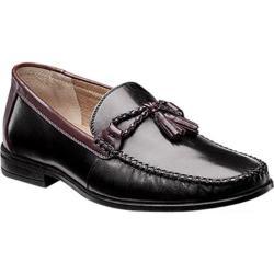 Men's Nunn Bush Newbury Tassel Black Multi Leather