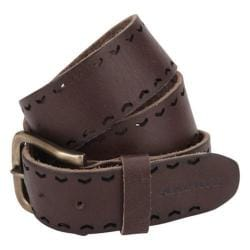 A Kurtz Baker Buffalo Leather Belt Brown