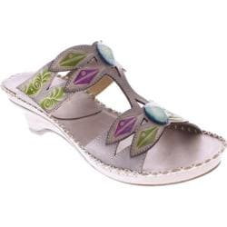 Women's Spring Step Sorriso Gray Leather