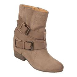 Women's Naya Fisher Truffle Taupe Oiled Suede/Leather