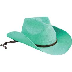 Girls' San Diego Hat Company Cowboy Hat STCLKID Turquoise