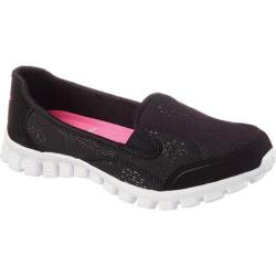 Women's Skechers EZ Flex 2 This Kiss Black/White