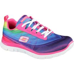 Women's Skechers Flex Appeal Pretty Please Pink/Multi