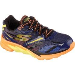 Boys' Skechers GOrun 4 Navy/Orange