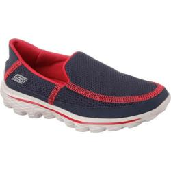 Boys' Skechers GOwalk 2 Navy/Red