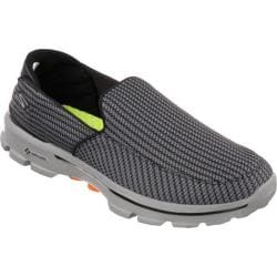 Men's Skechers GOwalk 3 Charcoal/Orange 14817425