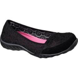 Women's Skechers Relaxed Fit Breathe Easy Pretty Factor Black